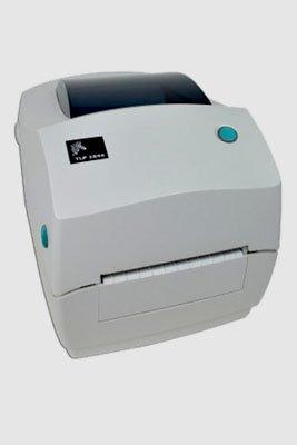 Aluguel de impressoras de etiquetas Zebra TLP2844 USB