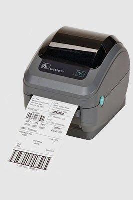 Aluguel de impressora Zebra GX420 Desktop USB